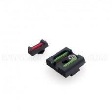 Комплект прицельных с оптоволокном Eemann Tech для GLOCK