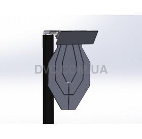 """Мишенная установка """"Мишень МКПС с отделяющимися зонами"""" - Hardox 10 mm"""