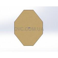 "Мишень-гонг ""Мишень МКПС"" - Hardox 10 mm"