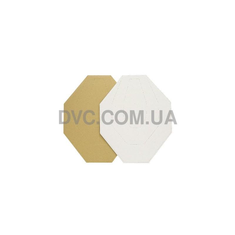 Мишень МКПС 60%, 100 шт- цвет белый