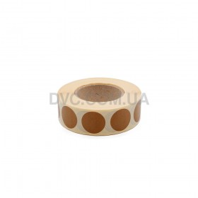 Заклейки для мішеней 1000 шт (коричневий)