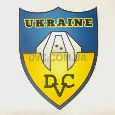 Набор автомобильных наклеек IPSC Ukraine