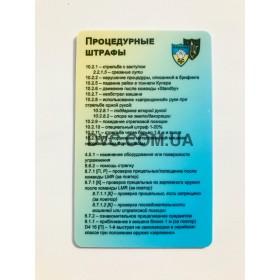 Судейская шпаргалка DVC-Ukraine