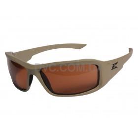 Захисні окуляри Edge Tactical Hamel - (Thin Temple) Sand Polarized Copper