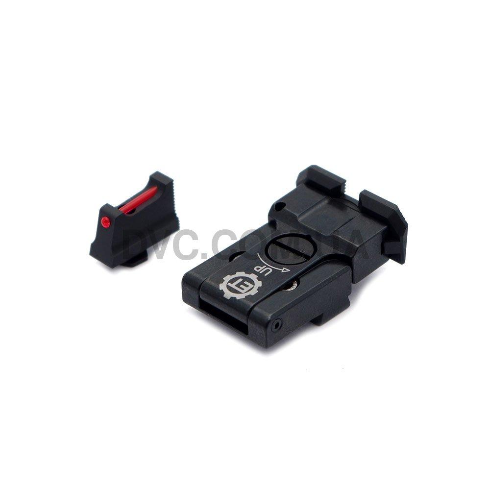 Комплект прицільних пристроїв регульованих Eemann Tech - Adjustable для GLOCK
