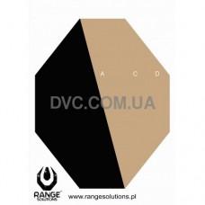 Мишень бумажная IPSC Hard Cover 3