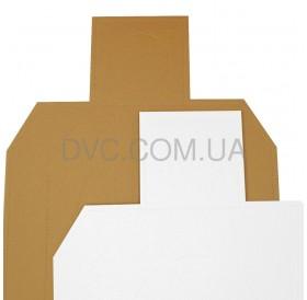 Мішень картонна IDPA 100 шт - колір бiлий