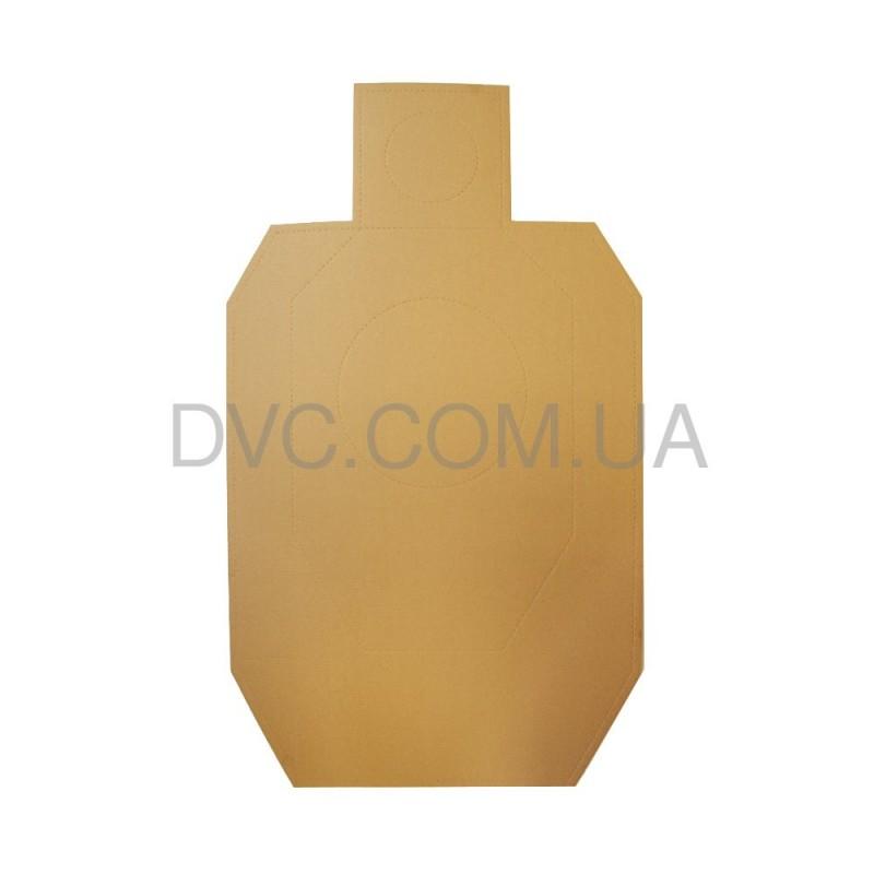 Мішень картонна IDPA 100 шт - колір коричневий