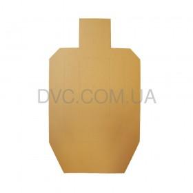 Мішень картонна МКПС метрична 100 шт - колір коричневий