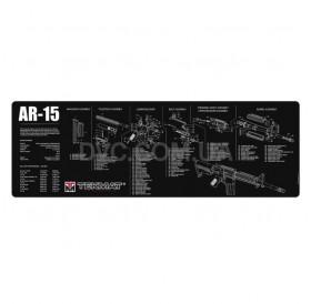 Коврик для Чистки Оружия Tekmat AR-15